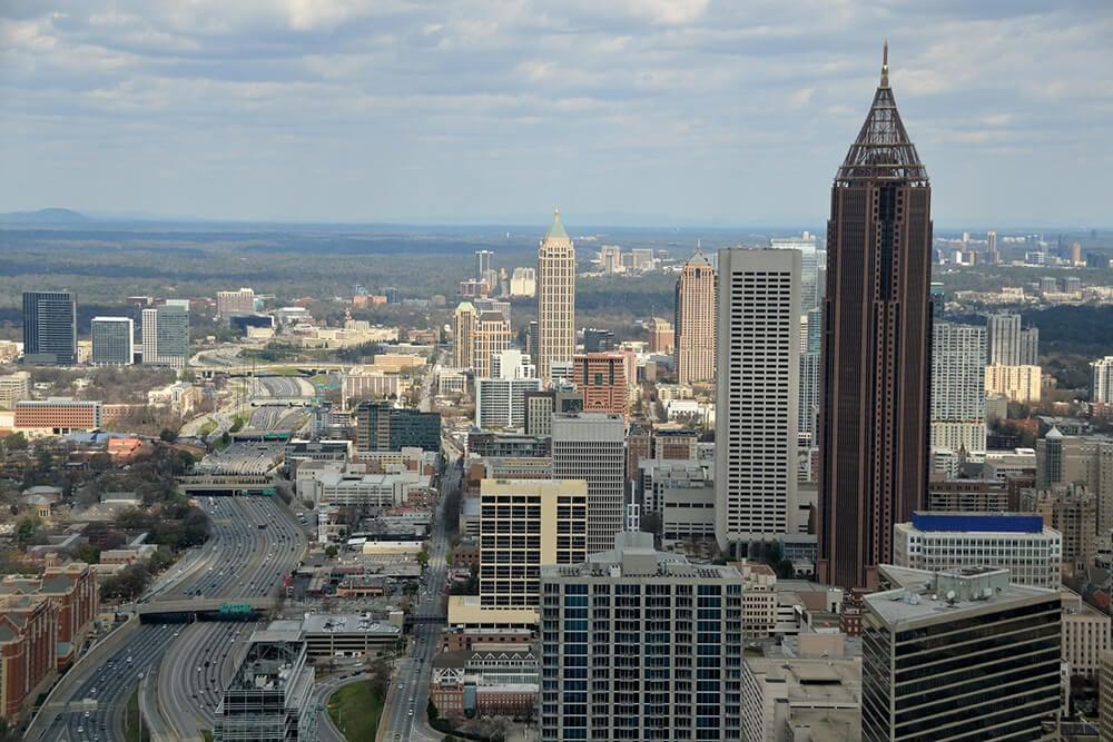 View of Atlanta Georgia